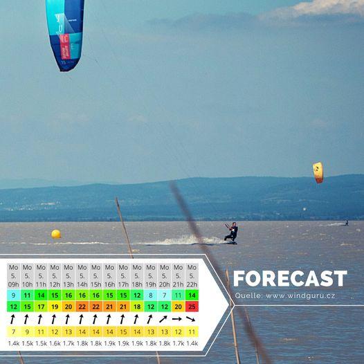Mit der Vorhersagen für den Ostermontag könnten wir ganz leb...