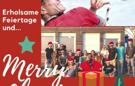 Wir wünschen euch allen Frohe Weihnachten!  Genießt die Feie...